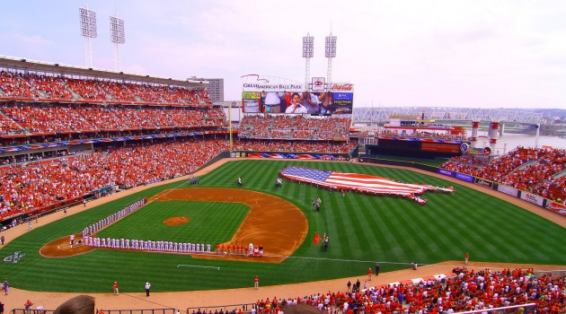 Cincinnati Reds Opening Day Game