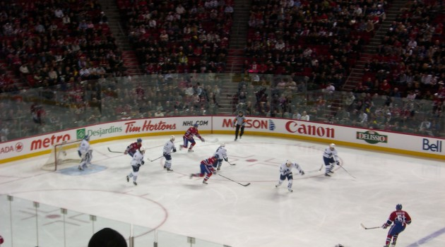 Montreal Canadians vs. Toronto Maple Leafs Hockey Game