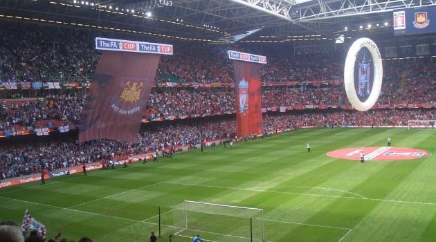 The FA Cup Final at Wembley Stadium