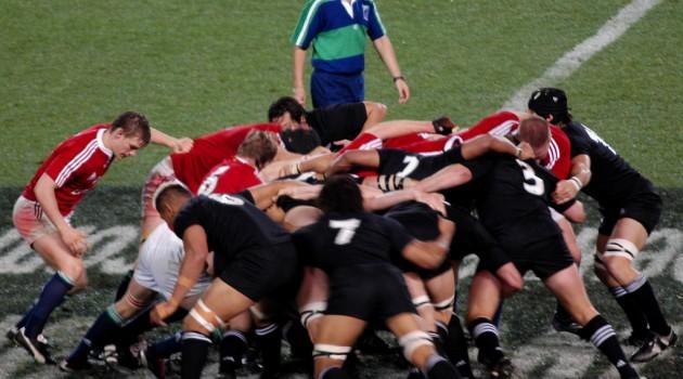All Blacks Rugby Match