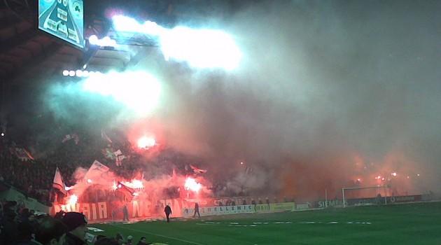 Panathinaikos vs. Olympiakos Soccer Match